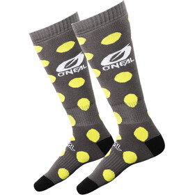 ONeal Pro MX Socks Candy gray/yellow